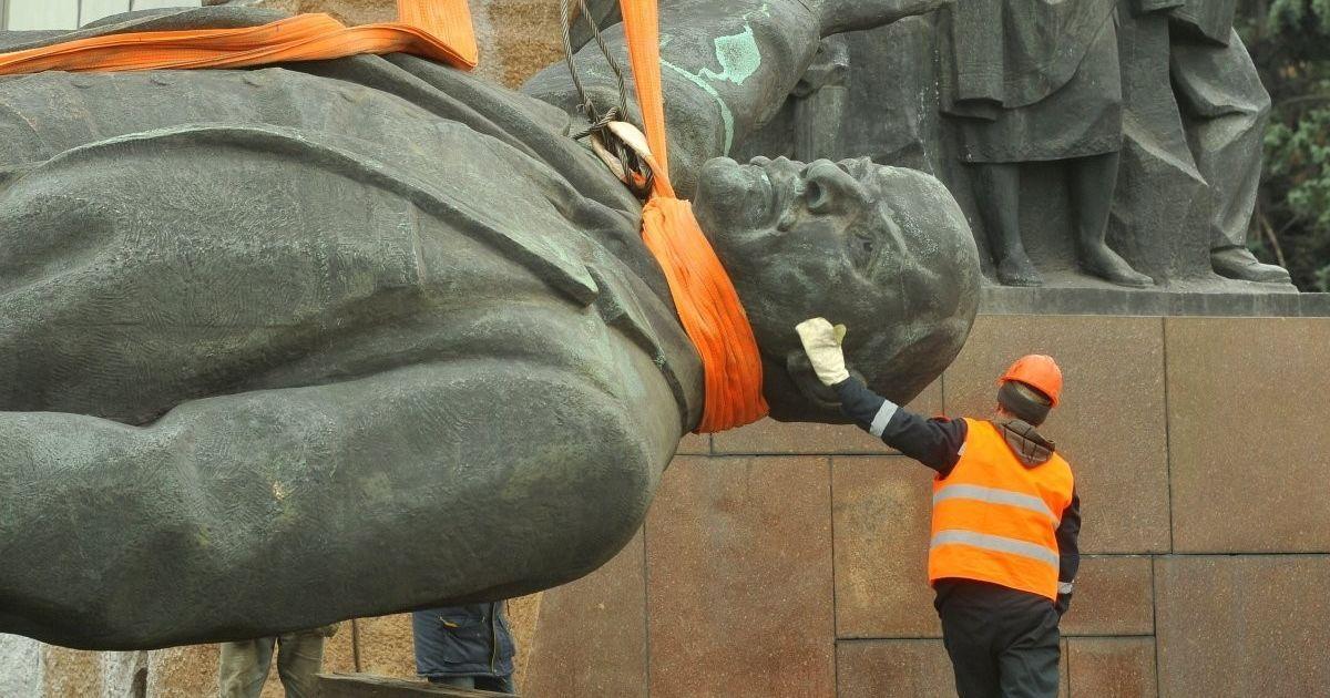 У Запоріжжі хочуть продати пам'ятник Леніну та звести на ці кошти монумент загиблим АТОвцям
