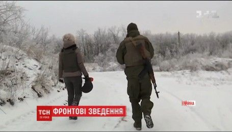 Враг уменьшил интенсивность обстрелов в районе Авдеевской промзоны