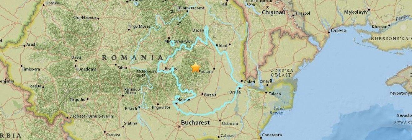 Землетрус Румунія Україна