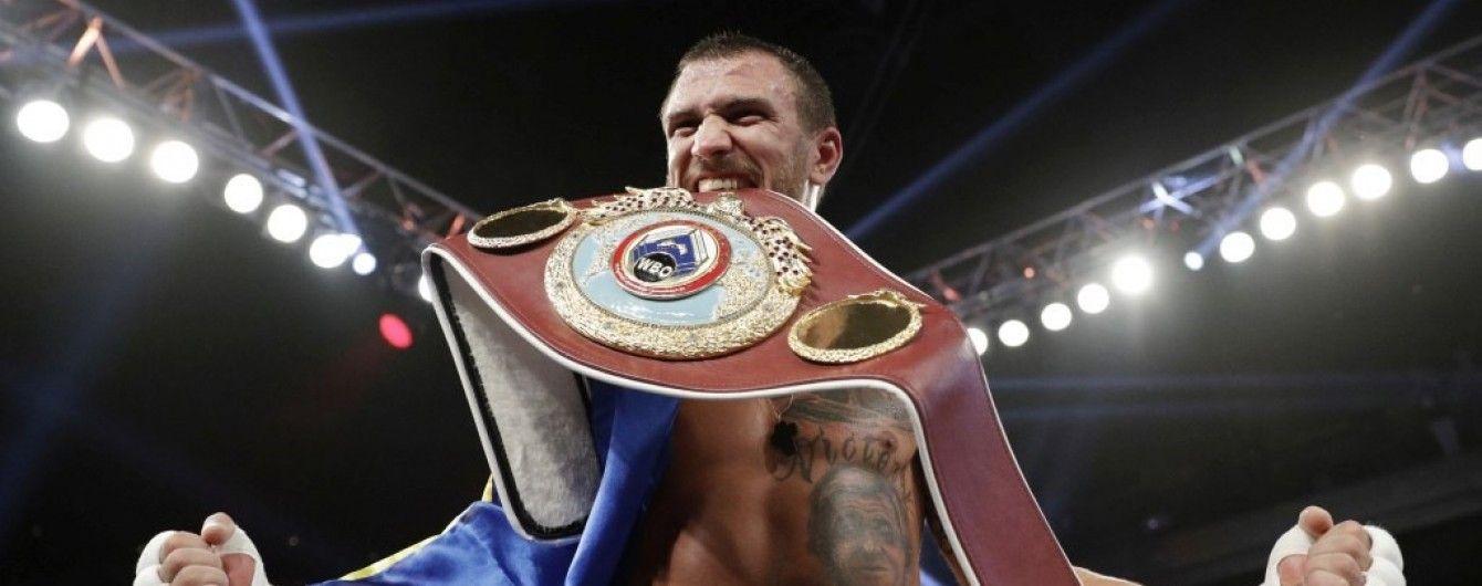 Українець Ломаченко очолив рейтинг найкращих боксерів світу за версією HBO