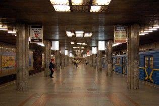 Синяя ветка метро в Киеве останавливалась из-за аварии