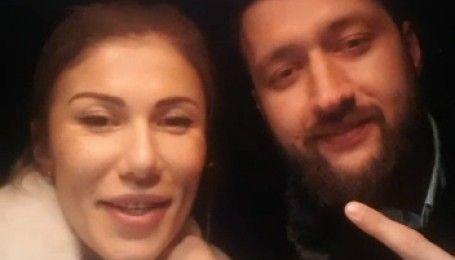 Новогоднее видеопоздравление от Тамерлана и Алены Омаргалиевой