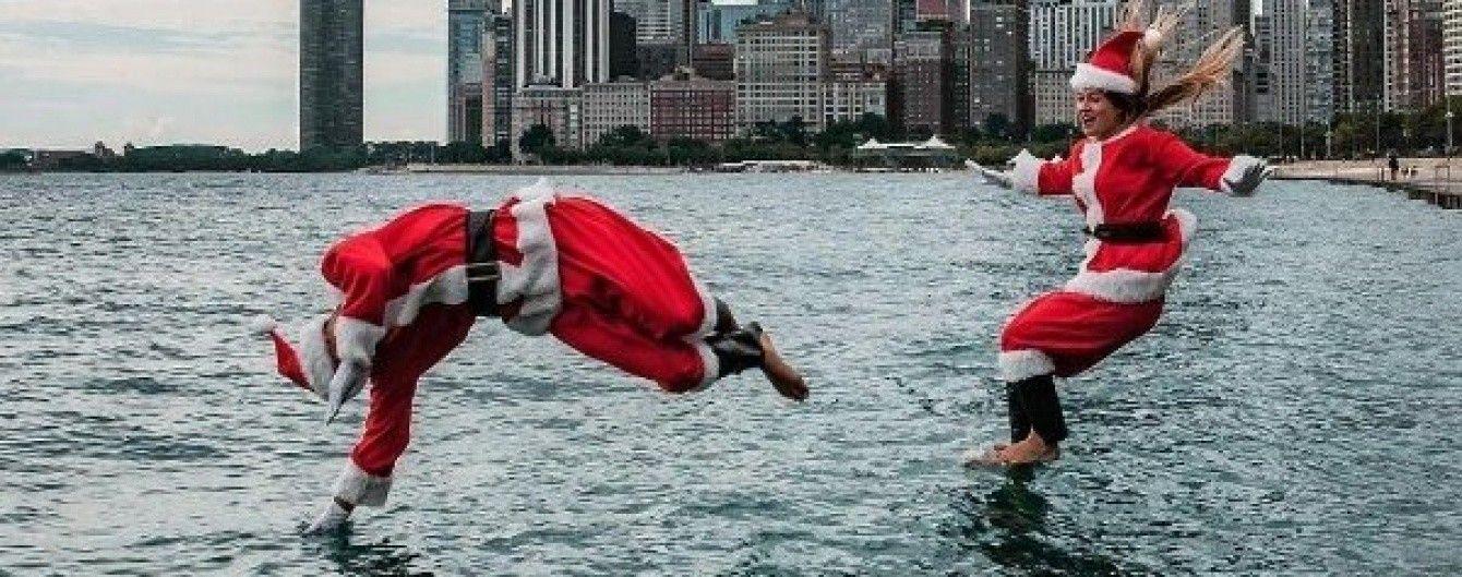"Санта Клауси-серфери та ""жива"" таблиця Менделеєва. Найпопулярніші фото з Instagram"