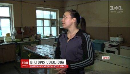 Спортсменка, которая прославляла Украину на мировых соревнованиях, живет в общежитии в ужасных условиях