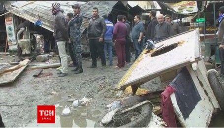 Две бомбы взорвались на рынке в центре Багдада