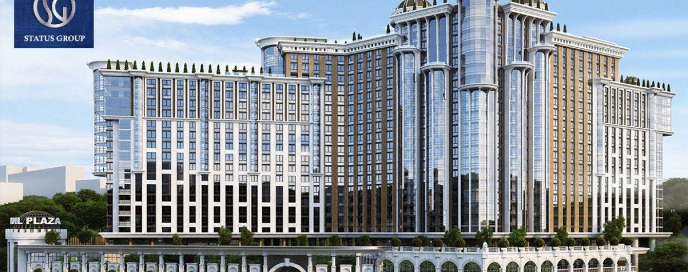 У ЖК Podil Plaza Residence відкриється елітний торгівельно-офісний центр