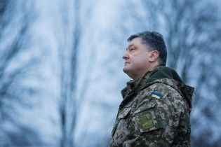 Порошенко поздравил украинцев с Щедрым вечером