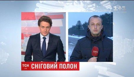 Киев приходит в себя после 2-дневного снежного плена