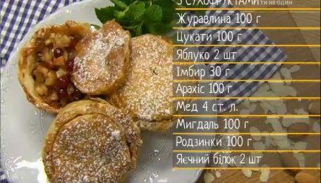 Готовим мини-пироги с сухофруктами от Руслана Сеничкина