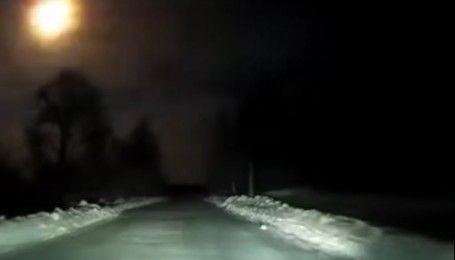 Над Росією пролетів яскравий метеорит