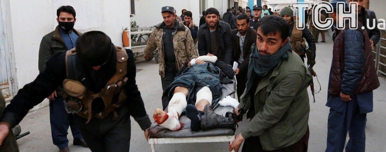 В Кабуле произошел двойной теракт, унесший жизни по меньшей мере 30 человек