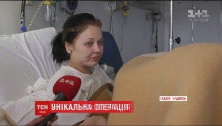 Итальянские медики провели рискованную операцию, которая спасла украинке ногу