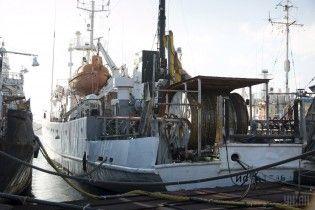 У ДПСУ назвали причину затримання окупантами українського судна в Чорному морі