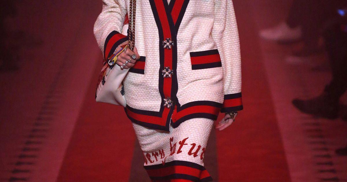 Коллекция Gucci прет-а-порте сезона весна-лето 2017