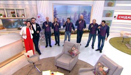 Вокальная группа ManSound исполнила украинскую колядку Небо и Земля