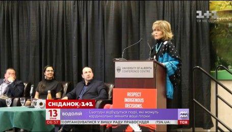 Джейн Фонда раскритиковала политику премьер-министра Канады