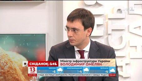 Володимир Омелян розповів, коли в Україні з'являться нормальні дороги