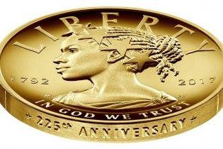 В США впервые за всю историю выпустят монету с афроамериканкой