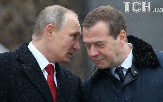 Медведєв отримав від Путіна нову посаду