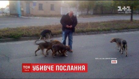 Неизвестные заложили гранату в почтовый ящик киевского догхантера Алексея Святогора