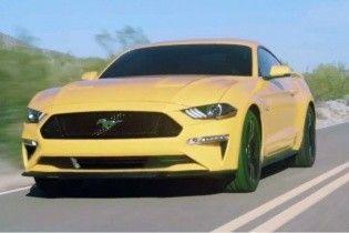 В Сети рассекретили рестайлинговый Ford Mustang GT (Видео)