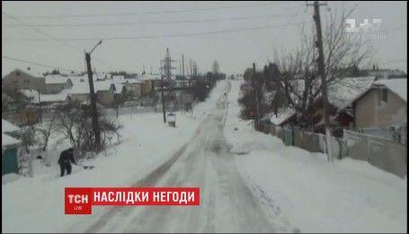На Закарпатье восстановили электроснабжение, которого не было двое суток из-за непогоды