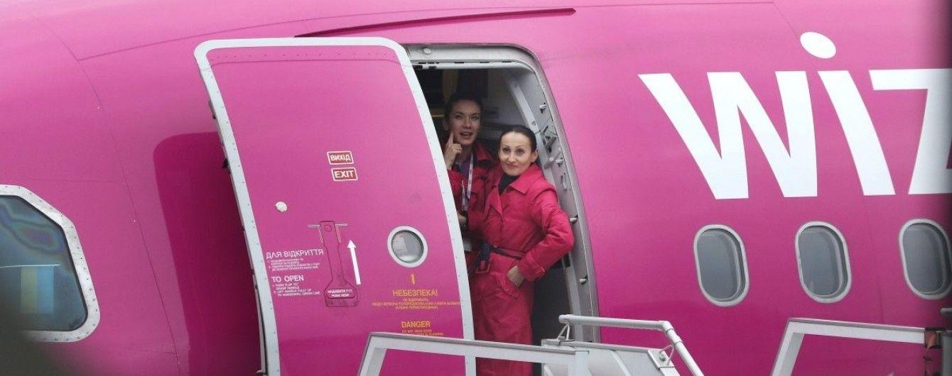 WizzAir открывает два новых маршрута из Киева. Инфографика