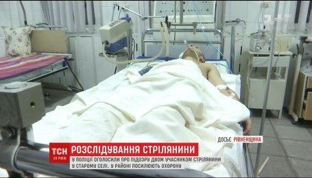 В полиции объявили о подозрении двум участникам воскресной перестрелки в Ровенской области