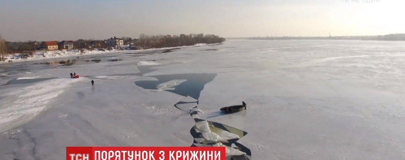 На обледеневших водоемах в Украине едва ли не каждый день гибнут люди