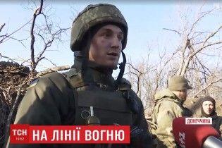 """""""Народжений у бронежилеті"""": українському морпіху куля зрикошетила в спину"""