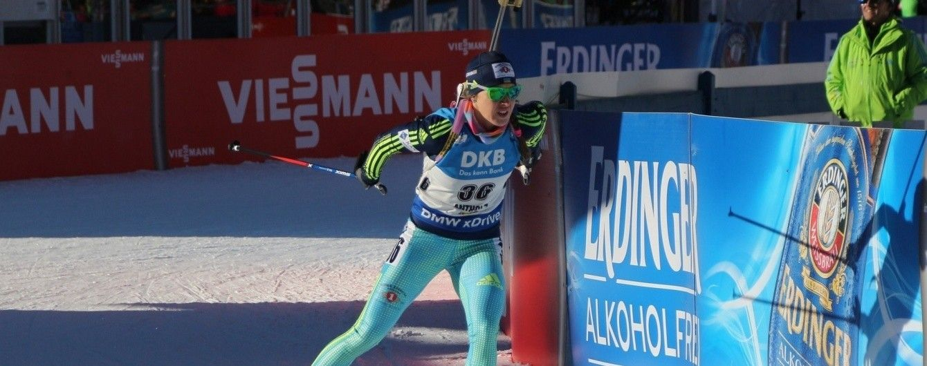 """Українка Джима виграла """"золото"""" в спринті на чемпіонаті Європи з біатлону"""