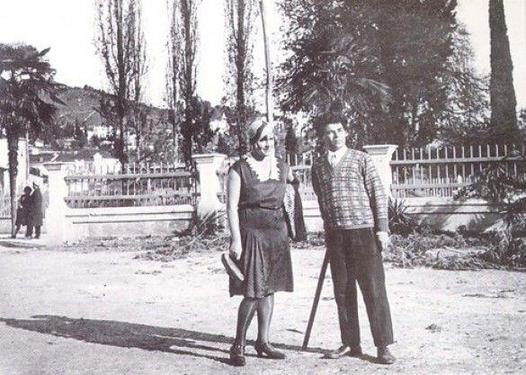 Наталя Ужвій і Михайль Семенко_1
