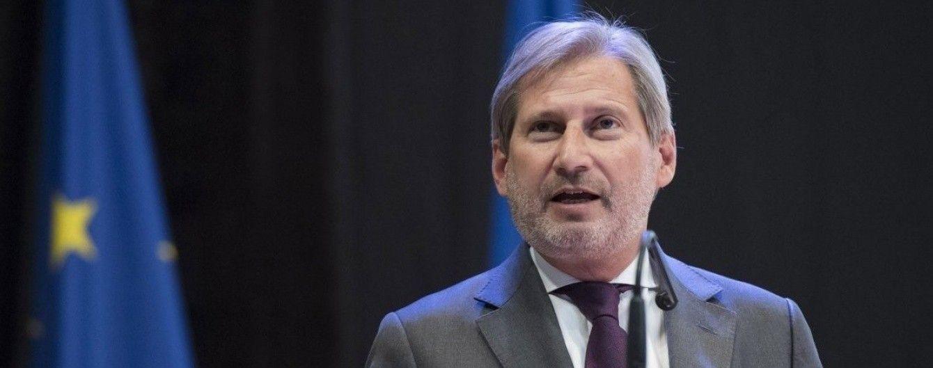 Єврокомісар запропонував припинити перемовини про членство в ЄС з Туреччиною
