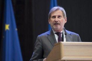 Еврокомиссар Хан объяснил, почему сейчас нет оснований для отмены санкций против России