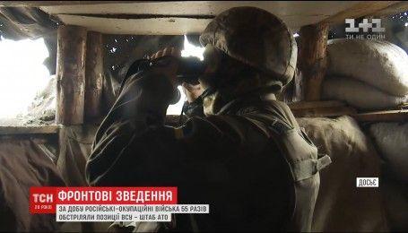 Нічна активізація бойовиків і артилерійський удар по Луганщині