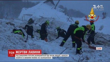 Снігова лавина в Італії забрала вже 21 життя