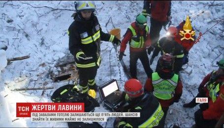 Збільшилась кількість жертв снігової лавини в Італії