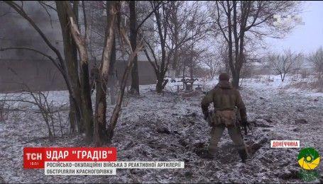 На Східному фронті бойовики гатять по мирних селищах