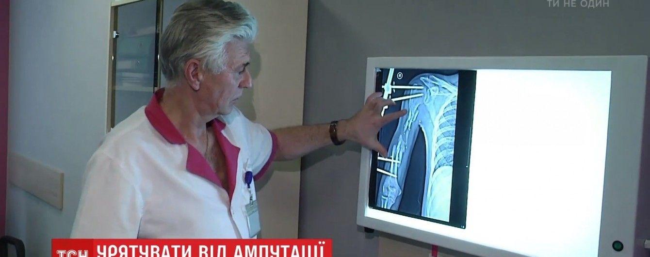Американские ученые начали спасать стволовыми клетками конечности украинцев от ампутации