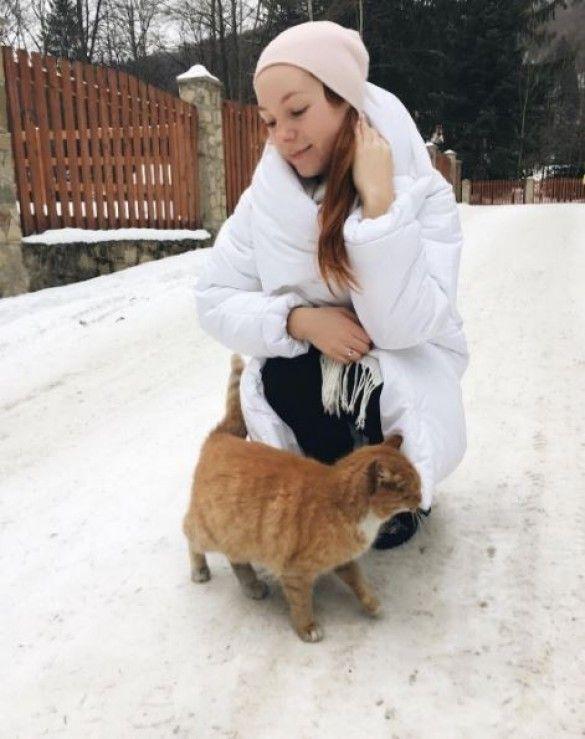Тарабарова на відпочинку в Карпатах_1
