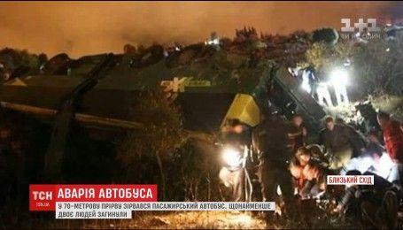 Щонайменше двоє людей загинуло в автобусній ДТП в Ізраїлі