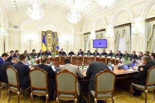 Порошенко розповів, коли РНБО проголосує за нові санкції проти РФ