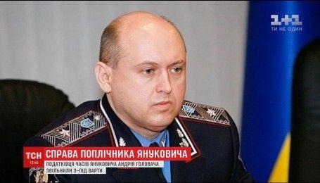 Экс-главу налоговой милиции Андрея Головача освободили из-под стражи