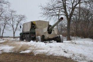 Українські військові підбили вантажівку з російськими артилеристами під Горлівкою