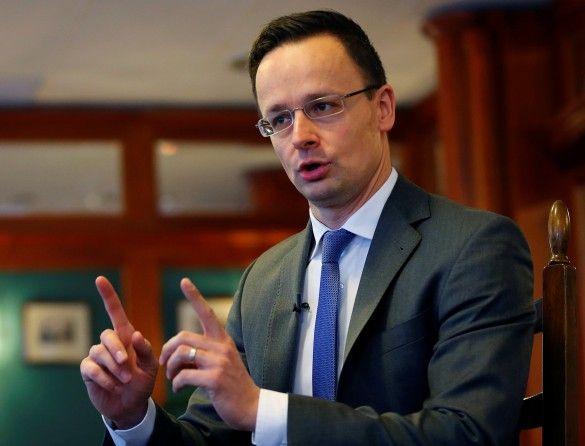 Голова МЗС Угорщини