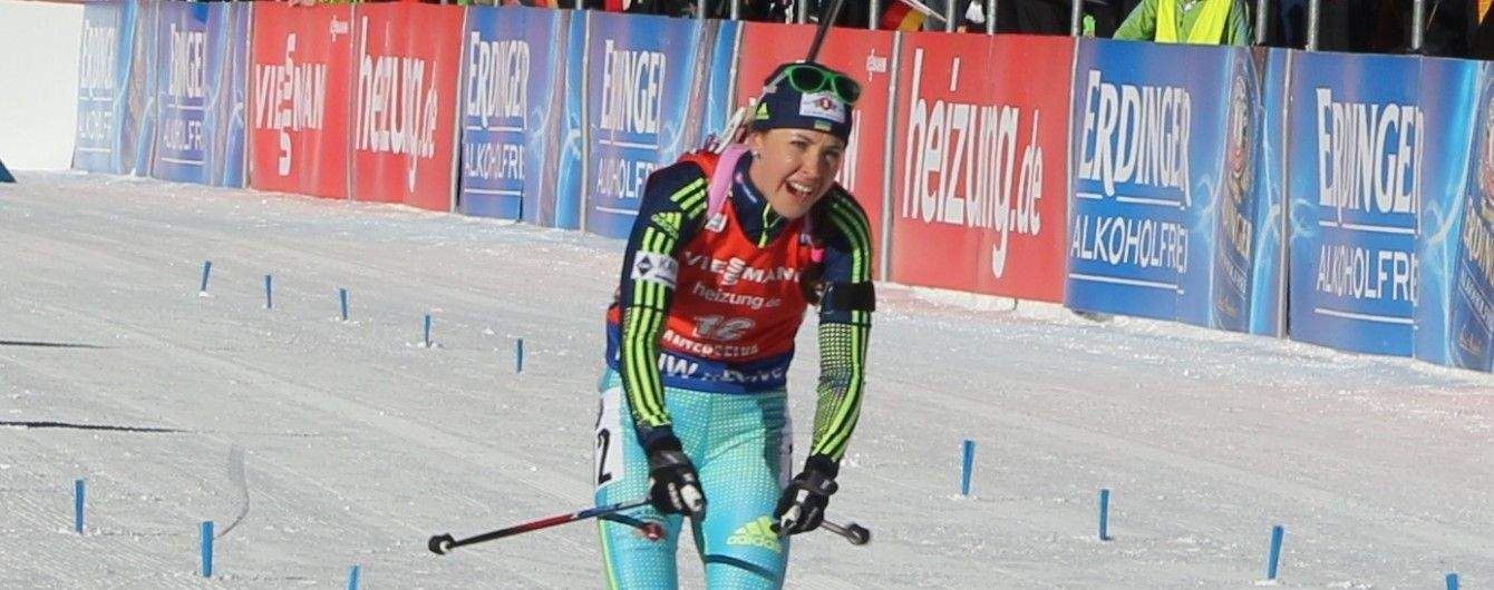 Украинка Джима выиграла вторую медаль этапа Кубка мира в Эстерсунде
