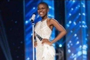 """Вперше в історії серед красунь """"Міс Всесвіт-2016"""" з'явилася учасниця від Сьєрра-Леоне"""