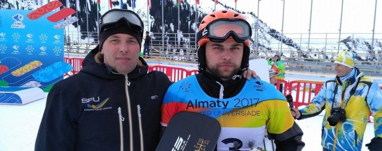 Четверта медаль України. Сноубордист Бєлінський став дворазовим призером Універсіади-2017