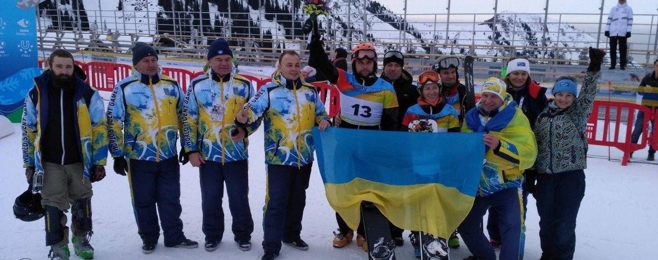 """Українці виграли """"срібло"""" та """"бронзу"""" в перший день Всесвітньої зимової Універсіади"""
