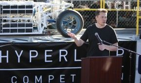 Ілон Маск розповів про дату запуску першого тунелю Hyperloop